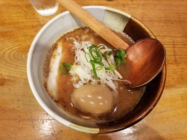 「味玉らーめん(930円)」@渡なべの写真