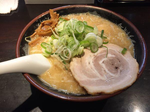 「味噌味玉(脂ガッツリ)」@旨みこってりらーめん鐵TETSUの写真