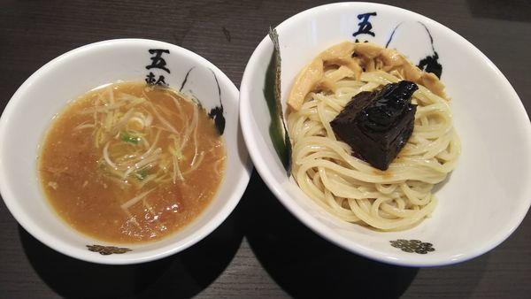 「黒角煮つけ麺(中)」@麺屋武蔵 五輪洞の写真