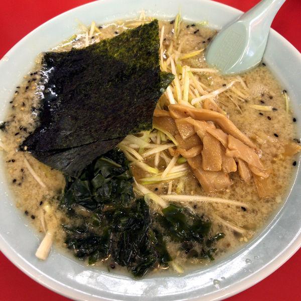 「ネギみそラーメン(半麺・固め・コッテリ)760円」@ラーメンショップ 太田店の写真