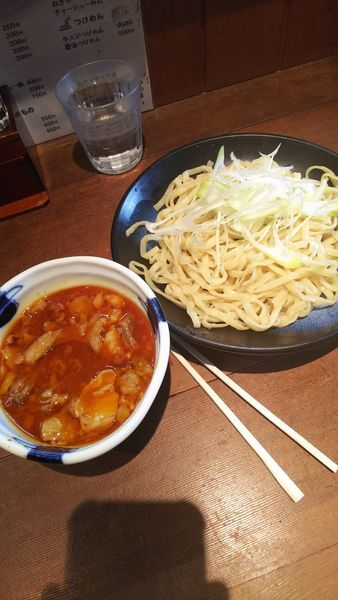 「牛すじつけ麺 950円」@八木屋の写真