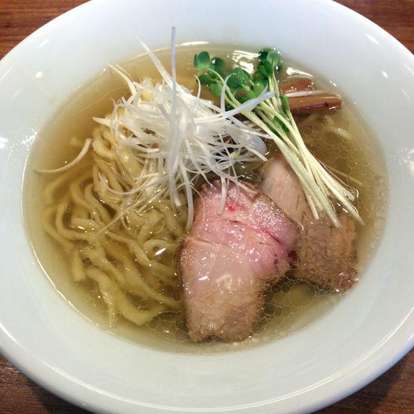 「塩そば(中太手もみ麺)720円」@麺処 いち林の写真