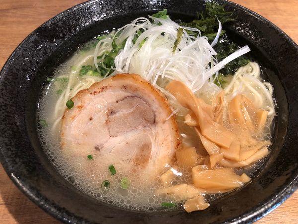 「あっさり鶏白湯ラーメン700円」@麺屋 飛翔の写真