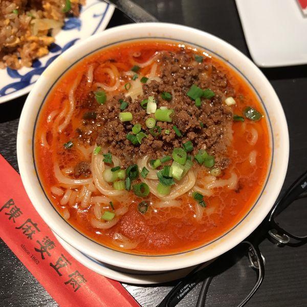 「本場四川省のタンタン麺」@陳麻婆豆腐 赤坂アークヒルズ店の写真