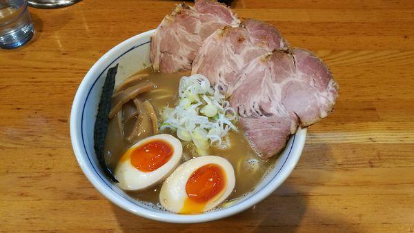 「特製ラー麺 950円」@麺屋はし本の写真