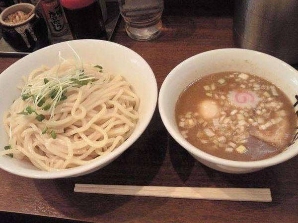 「つけめん 大盛 +味玉 (昼の部)」@つけめんTETSU 千駄木本店の写真