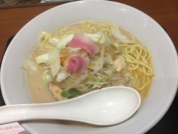 「ちゃんぽん¥637」@長崎ちゃんぽん リンガーハット 大宮駅東口店の写真