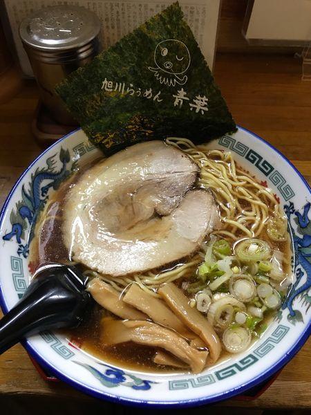 「正油ラーメン  750円」@旭川らぅめん青葉 本店の写真