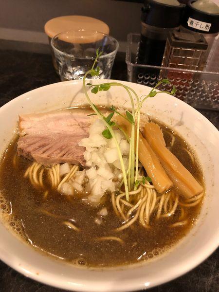 「煮干しそば醤油」@中華SOBA にぼ乃詩の写真