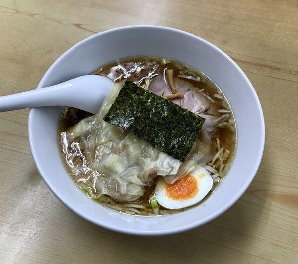 「ワンタンメン 玉子チャーハン 餃子」@兆徳の写真
