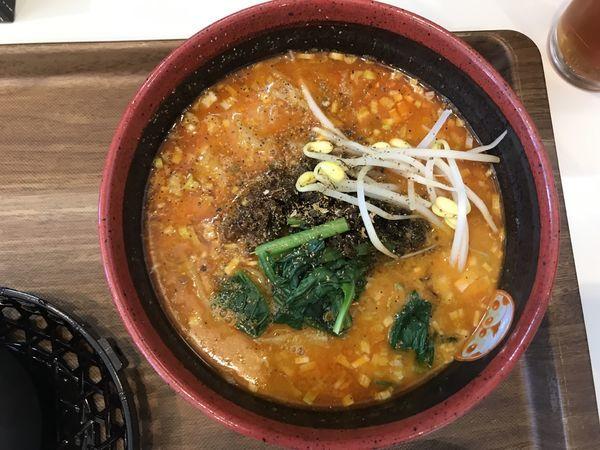 「麻辣坦々麺 900円」@TEN TENとTAN TAN 岐阜店の写真