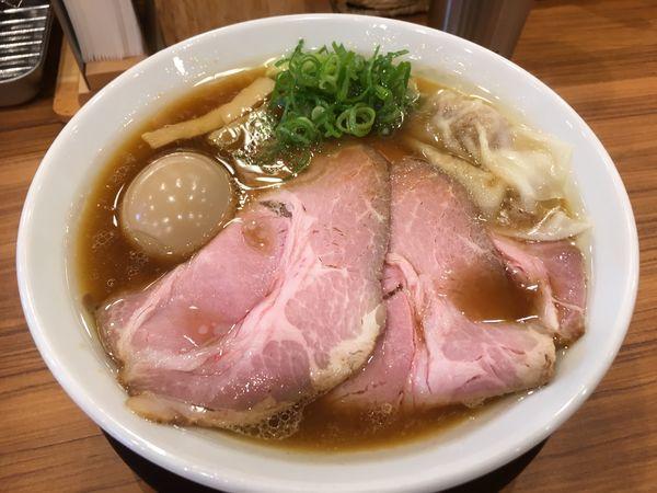 「特製鶏そば」@中華そば ココカラサキゑの写真