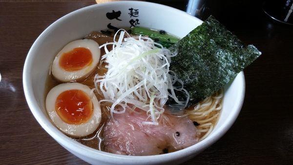 「味玉豊魚醤油ラーメン840円」@麺処 さとうの写真