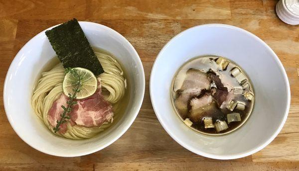 「味玉404つけ麺」@404の写真