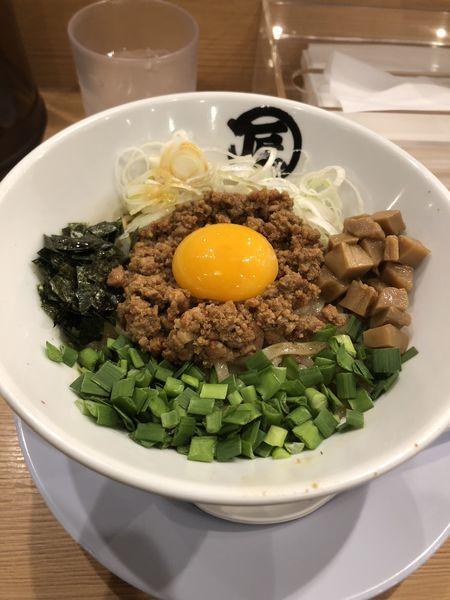 「台湾混ぜそば」@麺や マルショウ 新なにわ大食堂店の写真