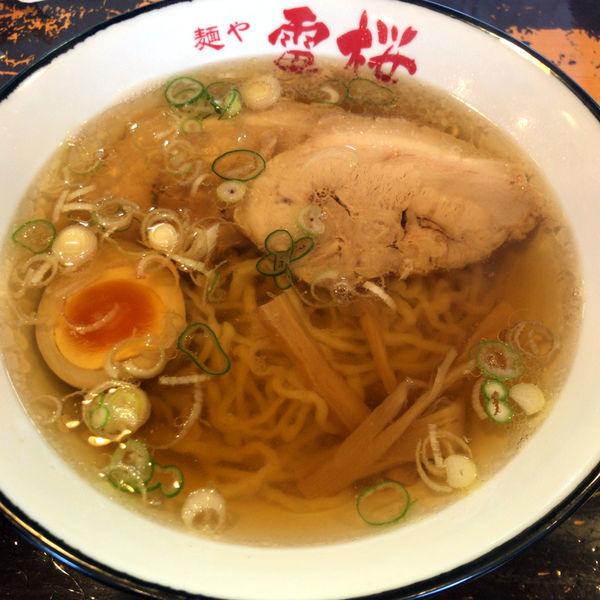 「らーめん 680円」@麺や 雷桜の写真