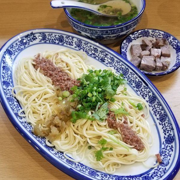 「牛肉拉麺」@西北拉麺の写真