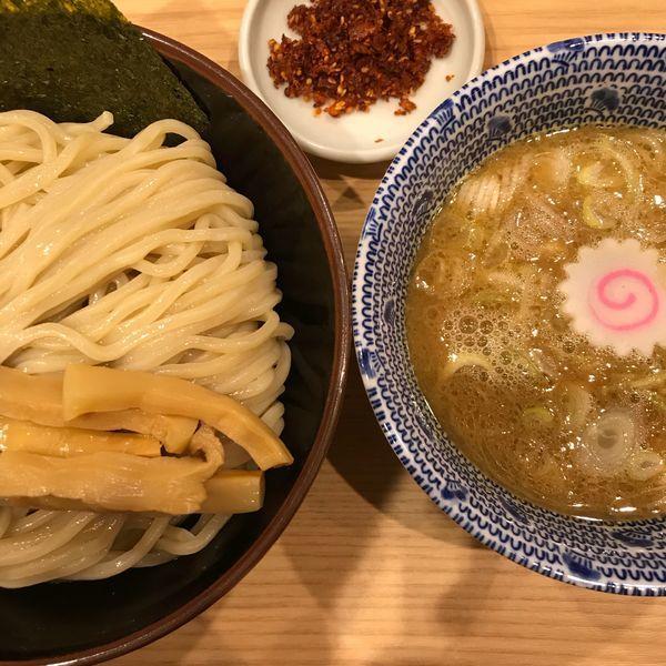 「赤辛つけ麺」@舎鈴 JRさいたま新都心ビル店の写真
