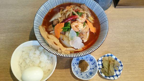 「椿火山    1200円」@麺屋 椿丸の写真