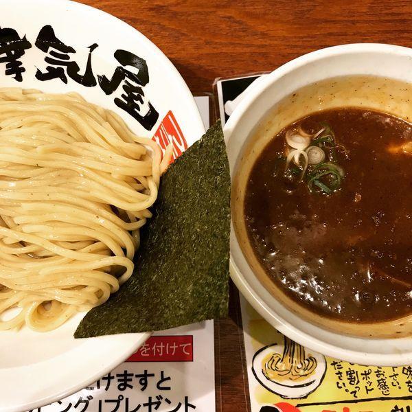 「辛つけ麺」@つけ麺津気屋 武蔵浦和の写真