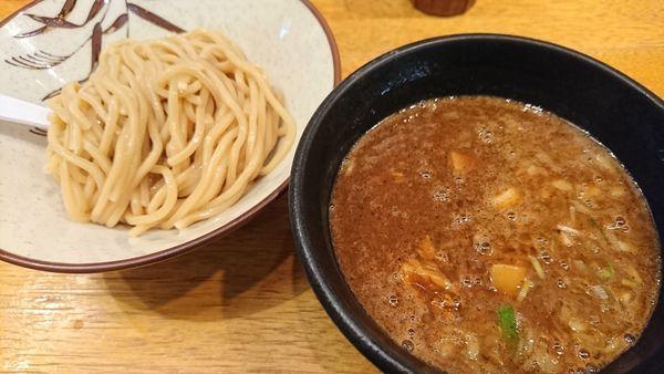 「濃厚つけ麺(800円)」@麺奏ハモニカの写真