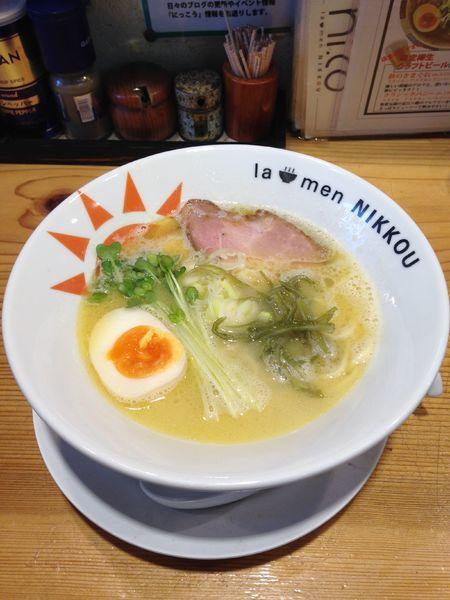 「鶏白湯 塩 770円」@ラーメン ニッコウの写真