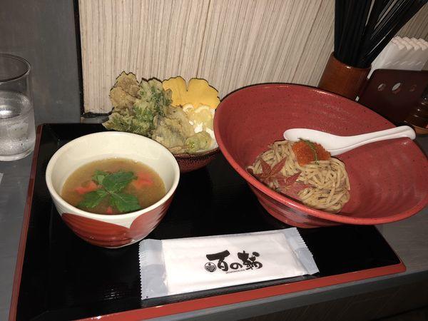 「御苑 紅葉つけ麺」@つけ麺専門 百の輔の写真
