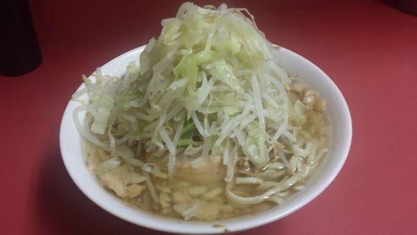 「小ラーメン(非乳化タイプ)700円」@ラーメン二郎 ひばりヶ丘駅前店の写真