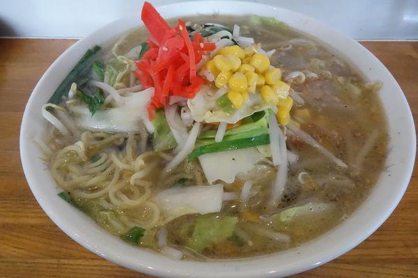「塩野菜ラーメン」@麺來の写真