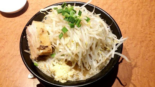 「ジパング麺 野菜普通 734円」@ジパング軒の写真