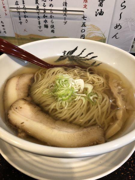 「植竹セット(鶏塩らーめん)」@やきめし屋 植竹の写真