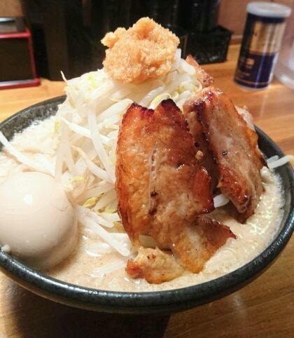 「味玉ちゃーしゅーめん」@どてちん 習志野店の写真