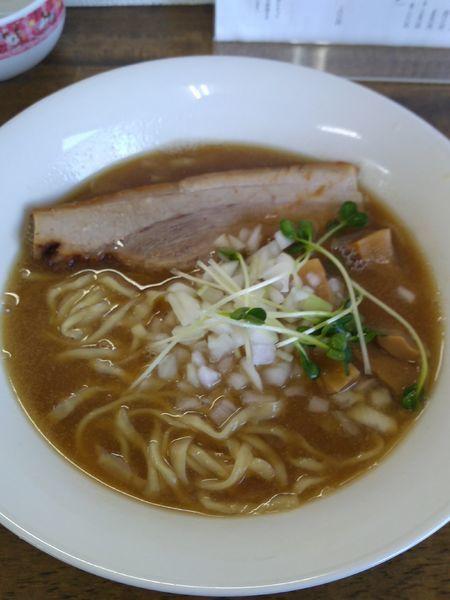 「[限定] 煮干し中華しそば (中太縮れ麺) 750円」@麺処 はつがいの写真