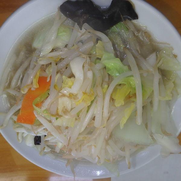 「タンメン(800円)」@あじ庵食堂の写真