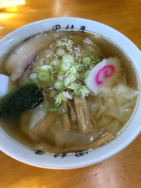 「ワンタン麺」@田村屋の写真