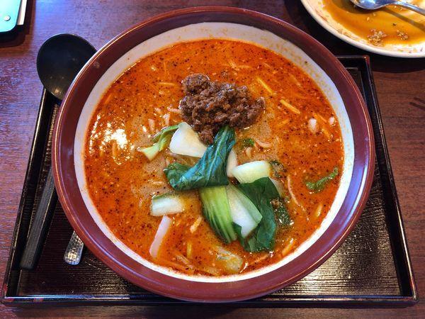 「四川担々麺」@チャイナ厨房 雪村 土浦店の写真