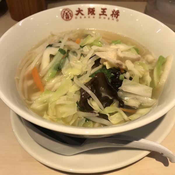「野菜たっぷり塩タン麺(¥670)※」@大阪王将 大森店の写真