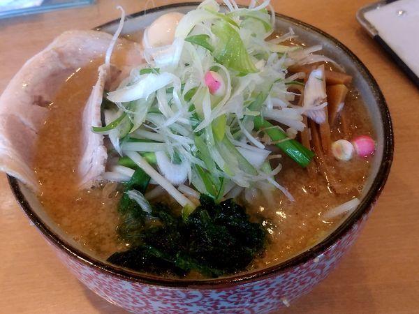 「味噌和ラーメン(1.5玉・240g)993円」@麺や 和の写真