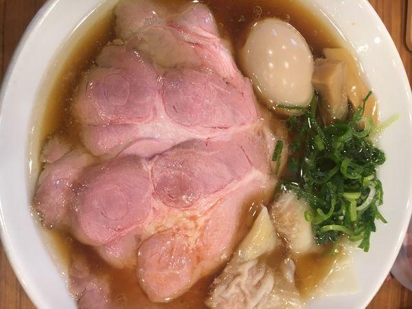 「特製鶏そば醤油¥980」@中華そば ココカラサキゑの写真