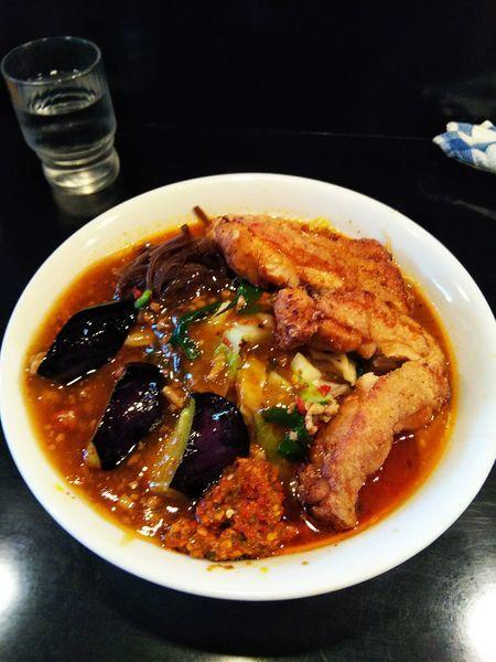 「極辛DX 野菜マシ」@激辛拉麺 鷹の爪の写真