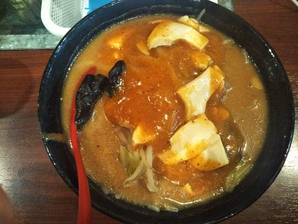 「ファイヤー味噌タンメン」@火の豚 立川ラーメンスクエア店の写真