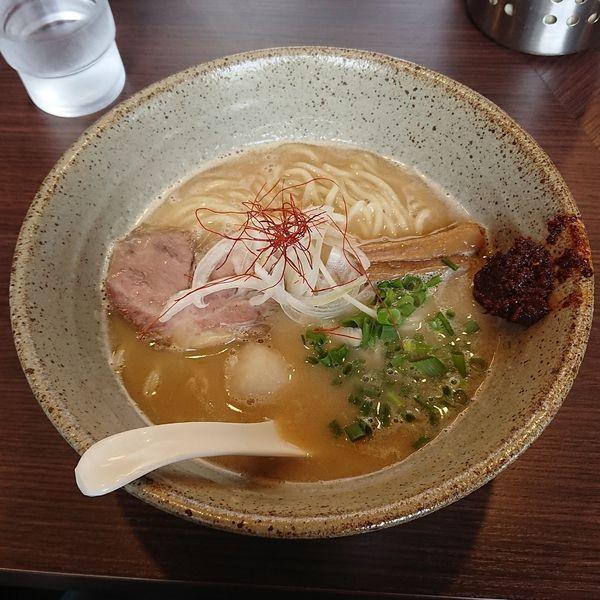 「海老塩極麺  @850円 じゃらんコラボ限定」@麺処 まるは BEYONDの写真