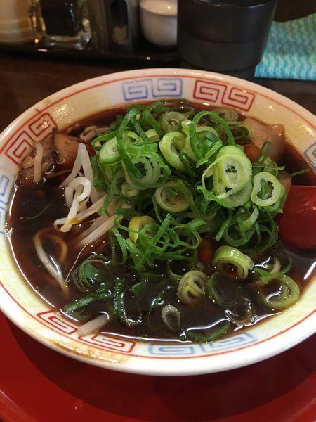 「中華そば小 焼きめし小」@新福菜館 麻布十番店の写真
