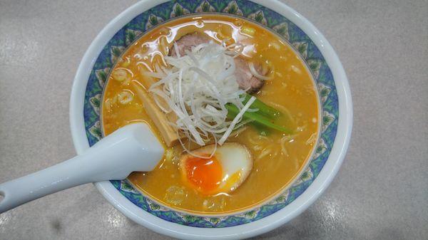 「みそらーめん」@らーめん 麺好の写真