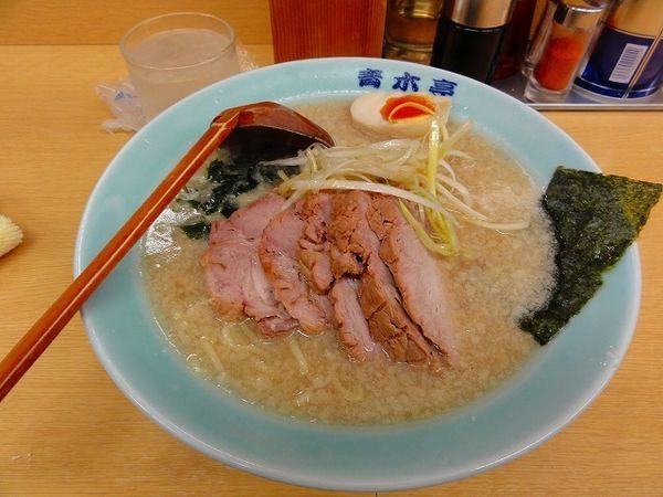 「醬油チャーシュー麺800円 クーポンで半ライス」@ラーメン青木亭 越谷店の写真