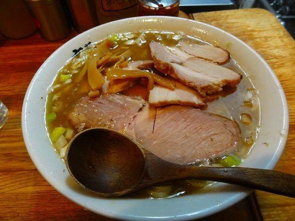 「半ミックス肉麺 800円」@麺 高はしの写真