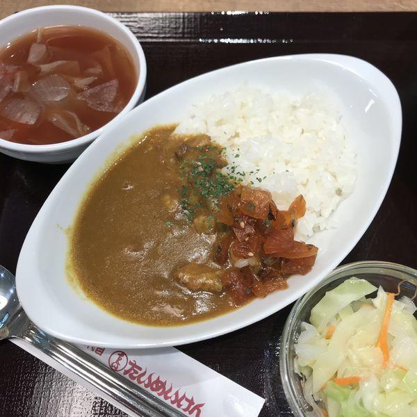 「ハーフカレーライス」@洋食や 三代目 たいめいけん ラゾーナ川崎プラザ店の写真