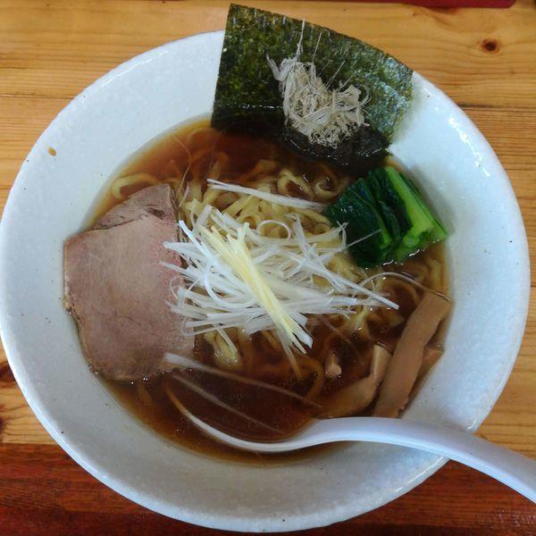 「【限定】生姜醤油ラーメン」@中華蕎麦 みやまの写真