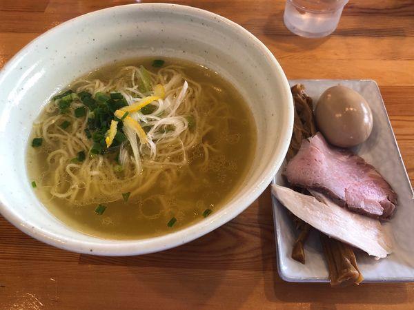 「鷄淡麗らーめん全部のせ800円」@麺堂HOMEの写真
