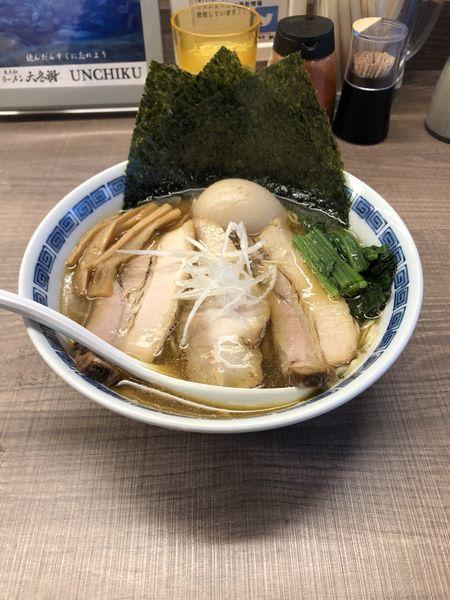 「煮干し中華そば スペシャル」@東大和ラーメン 大冬樹の写真